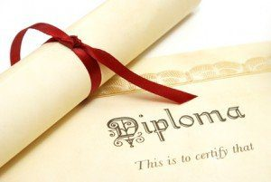 Education degree diploma