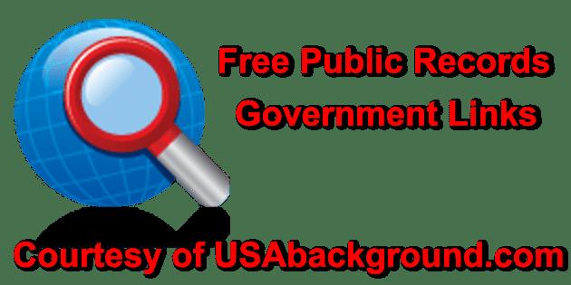 Free public records
