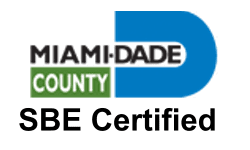 Miami-Dade County SBE certified