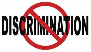 No discrimination